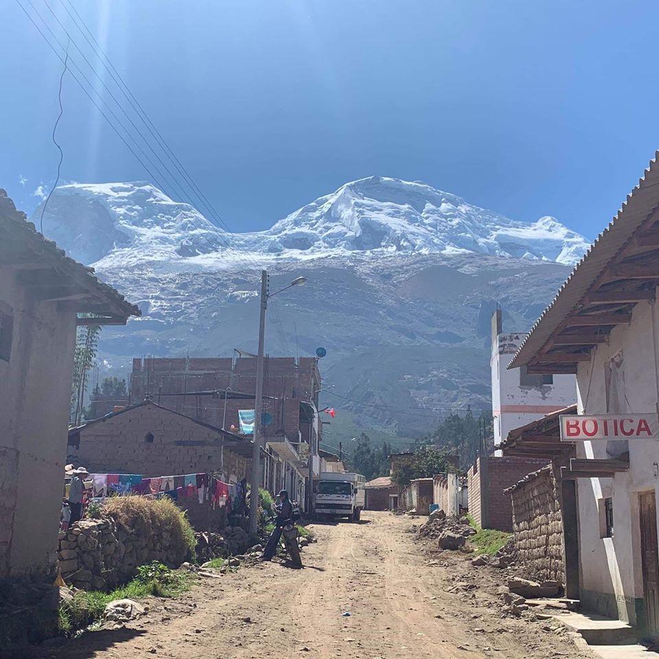 Montagne Huascaran au Pérou