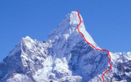 Voie Arrête Sud-Ouest Ama Dablam au Népal