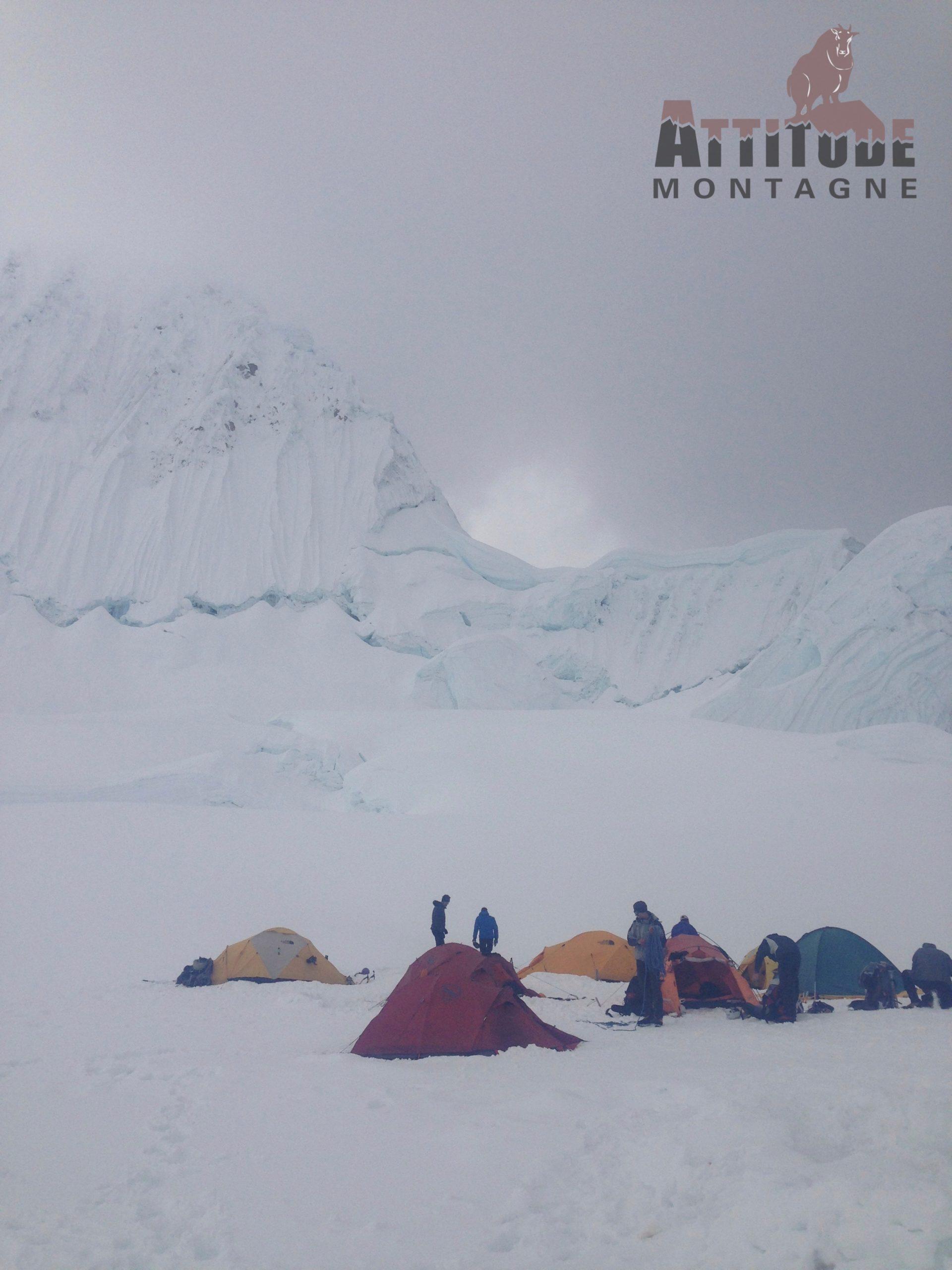 Camp de base de Alpamayo