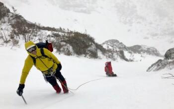 Cours d'alpinisme au Québec