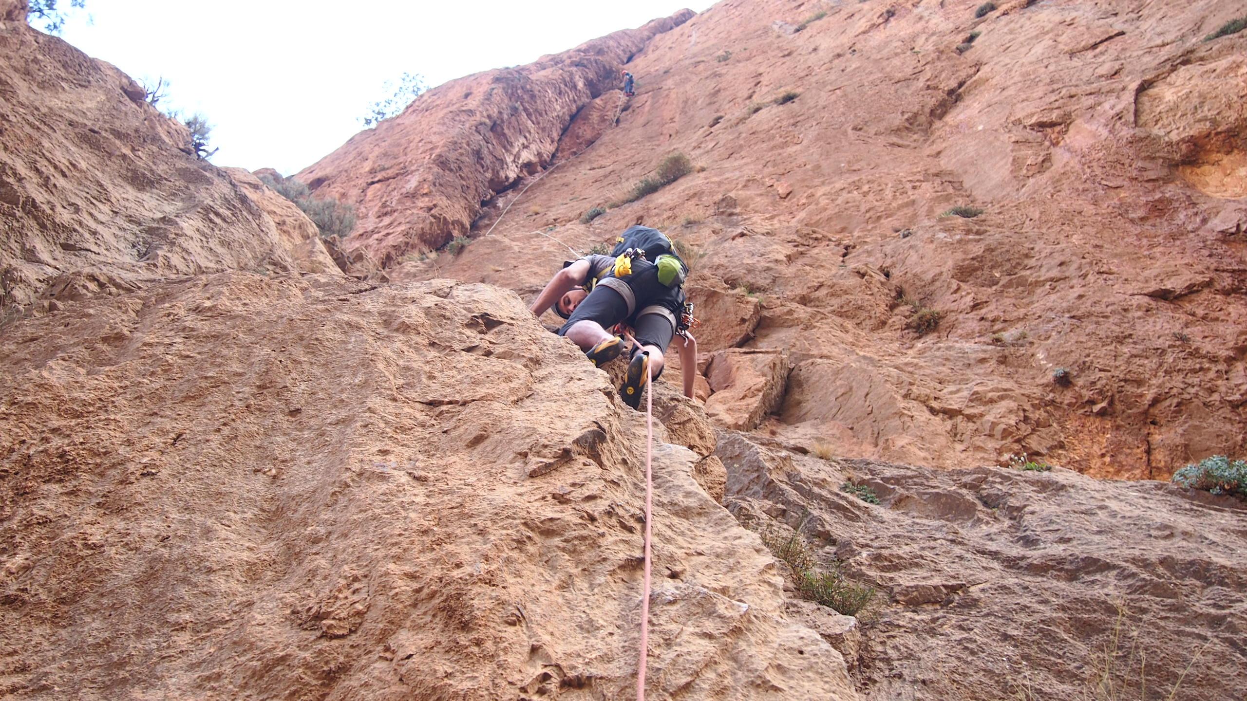 Guide d'escalade au Maroc