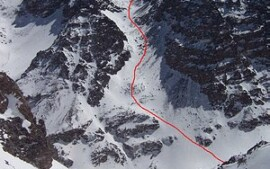 Voie du Toubkal - South Col ou West South West Ridge