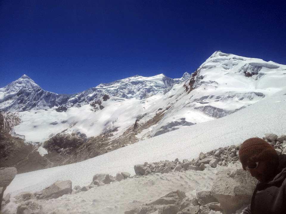 grimper expedition Ishinca