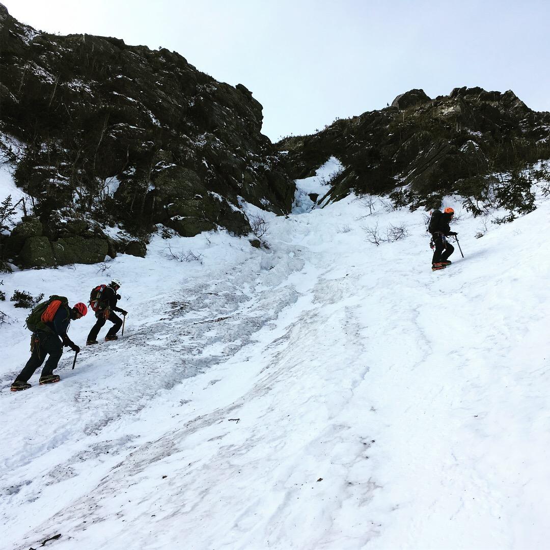 Guide sd'Alpinisme au Mont Washington