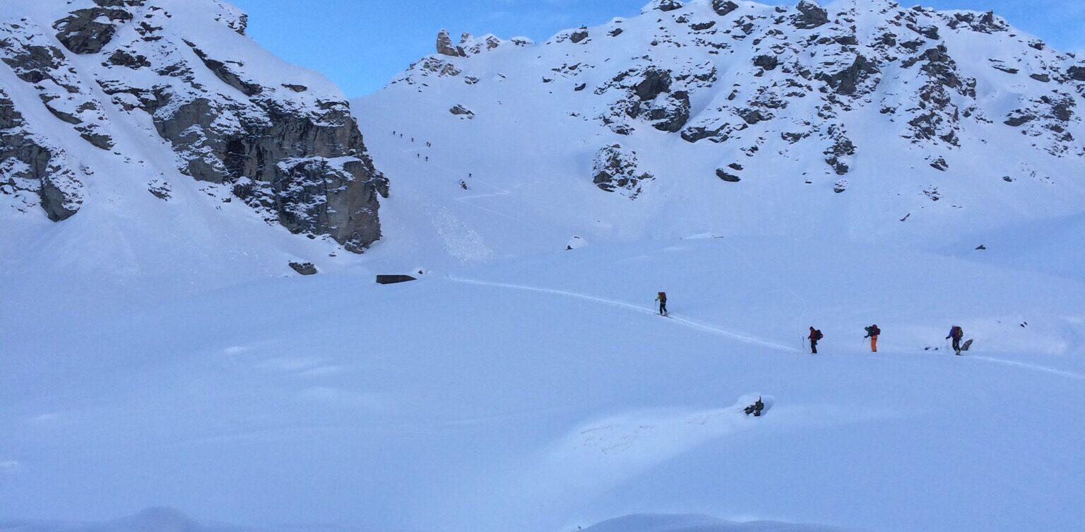 Voyage ski haute route