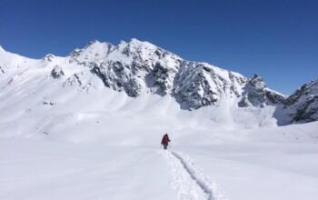 Voyage de ski de haute route