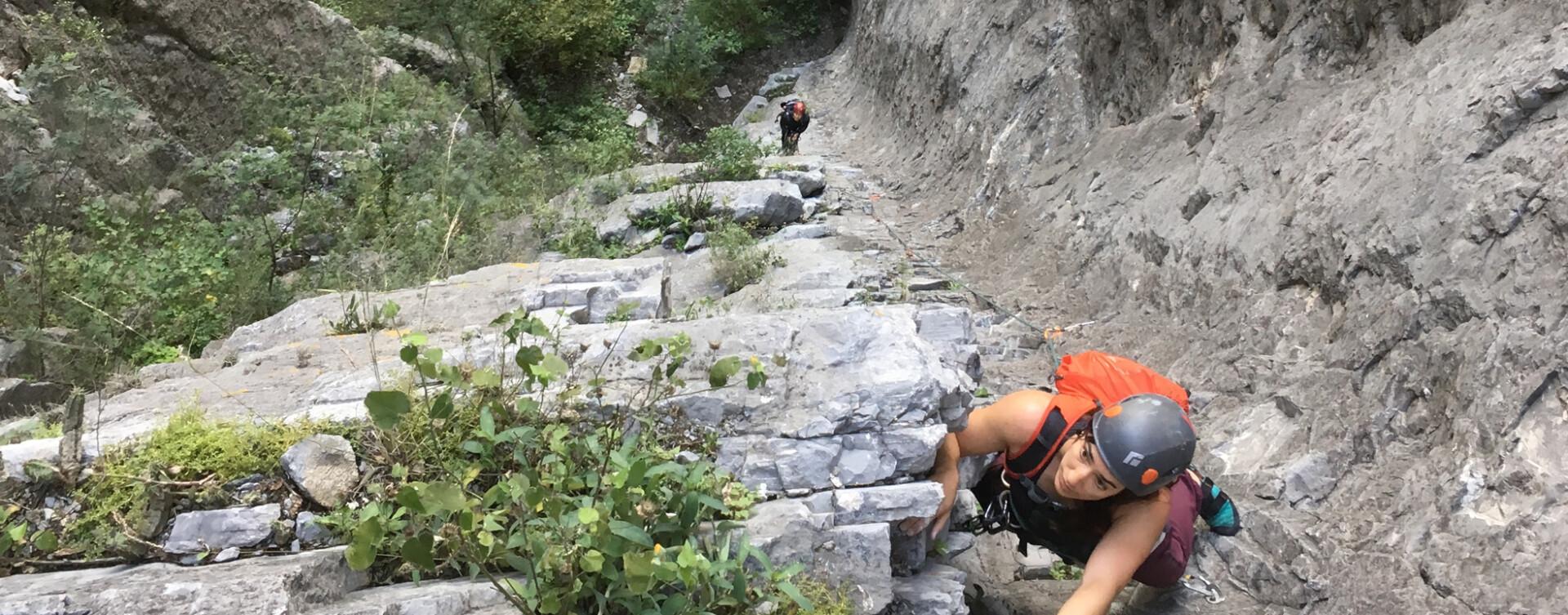 Escalade à El Potrero Chico au Mexique