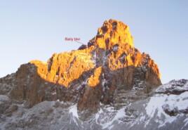 Voie du Mont Kenya