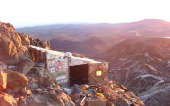 Camp de base du Mont Kenya