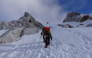 Expédition d'alpinisme au Pérou