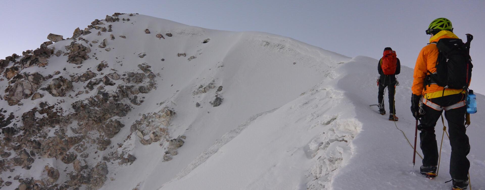 Expédition d'alpinisme au Mexique