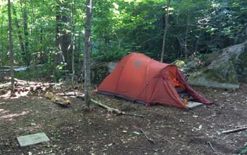 Camping rustique Laurentides