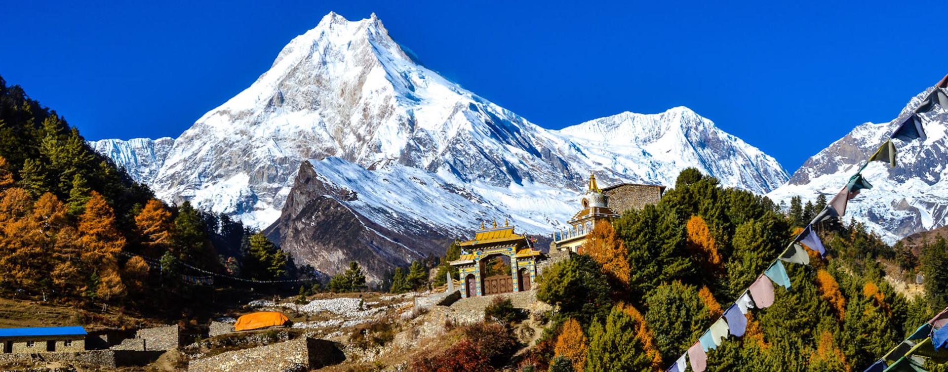 Ascention guidé du Manaslu au Népal