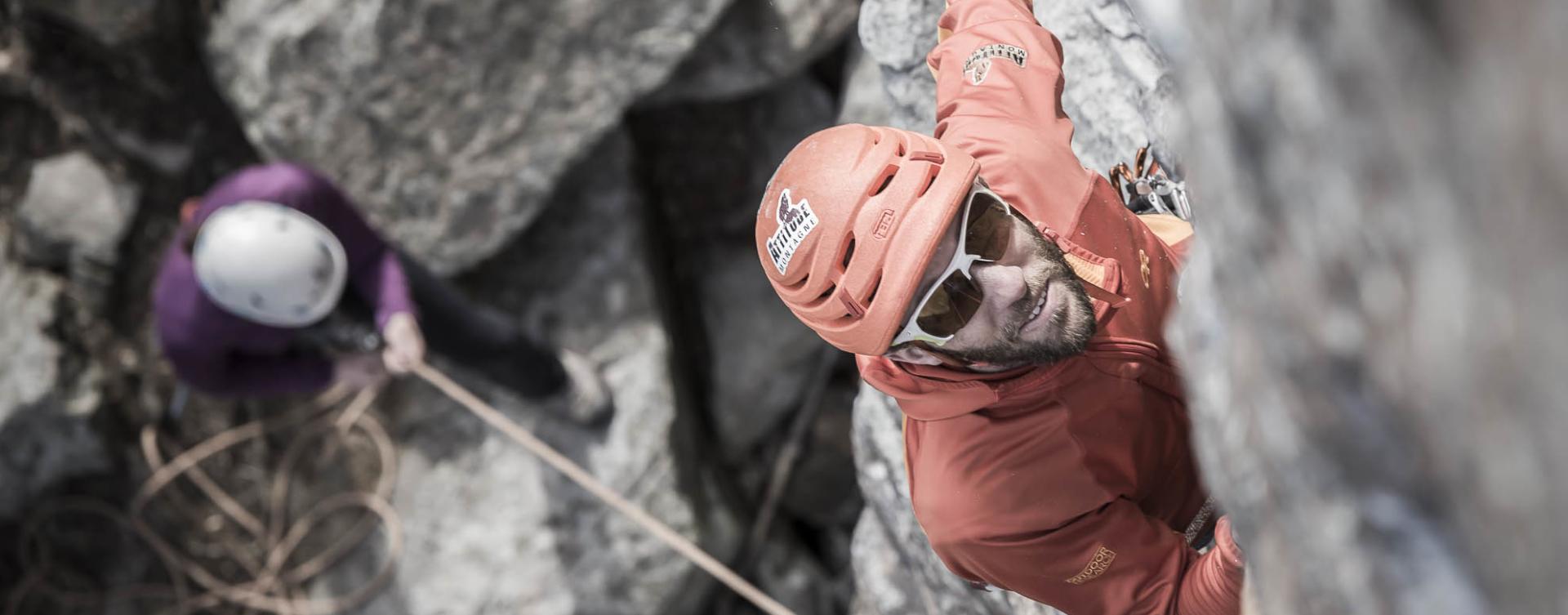 Cours d'escalade à Squamish