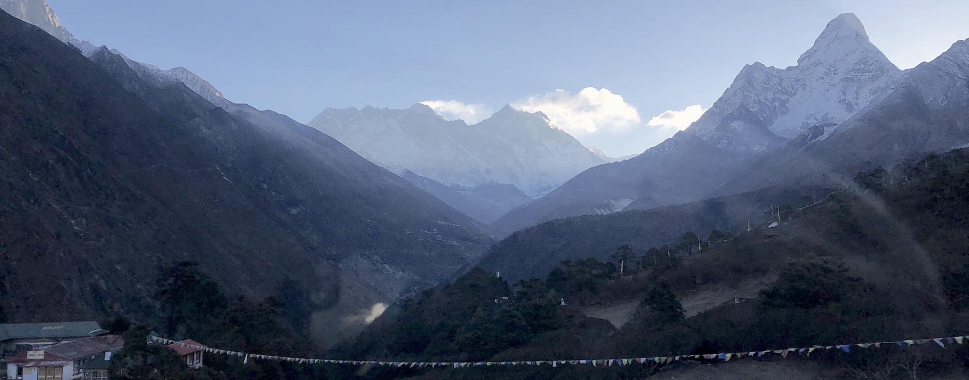 Trek au camp de base de 'Everest au Népal
