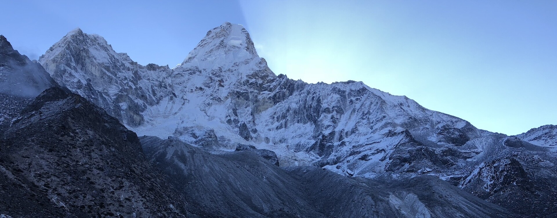 Ascension de l'Ama Dablam
