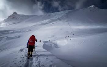 Ascension du sommet de Manaslu