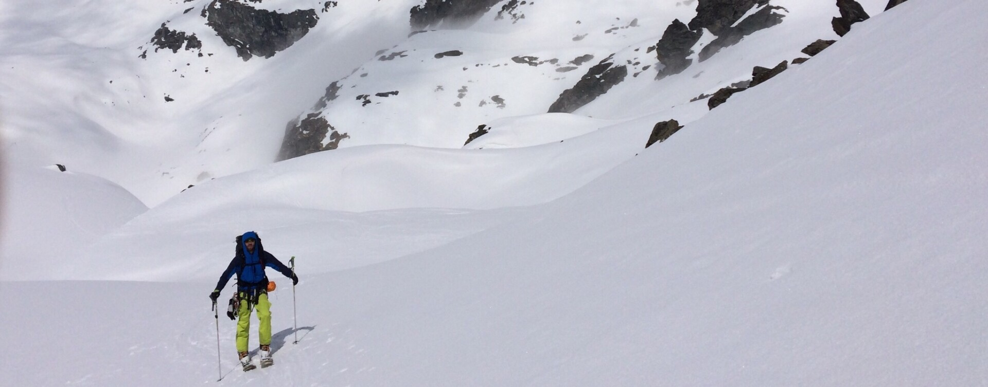 Cours de ski Haute route